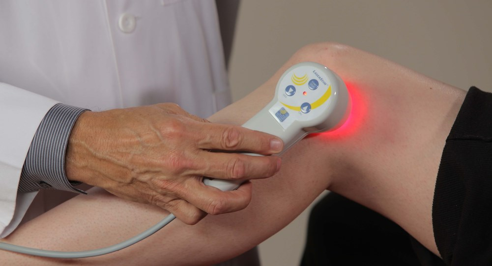 Treating arthritis with low level laser therapy from Multi Radiance Medical