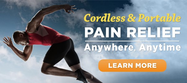 Learn more about portable pain relief for athletes with super pulsed laser