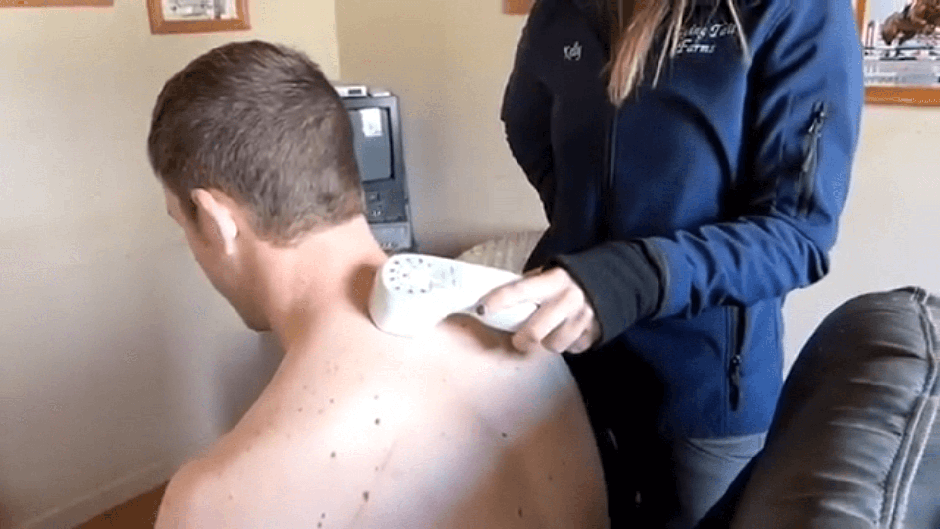 Wounded US Army veteran treats pain with Super Pulsed Laser Therapy from Multi Radiance Medical
