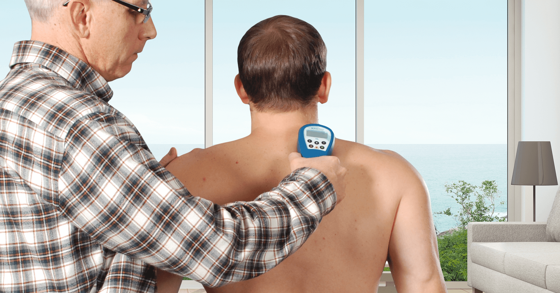Multi Radiance Super Pulsed Laser Therapy cleared for neck and shoulder pain