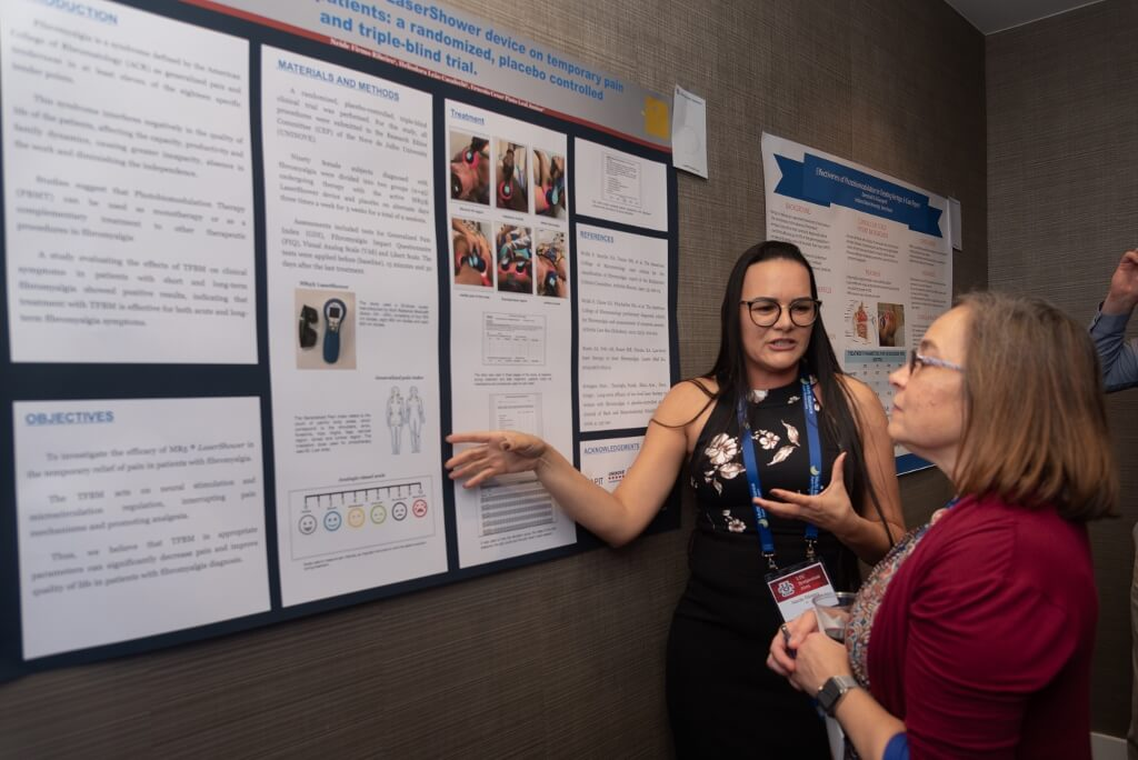 Explaining research during the LTU Symposium 2019 Poster Competition