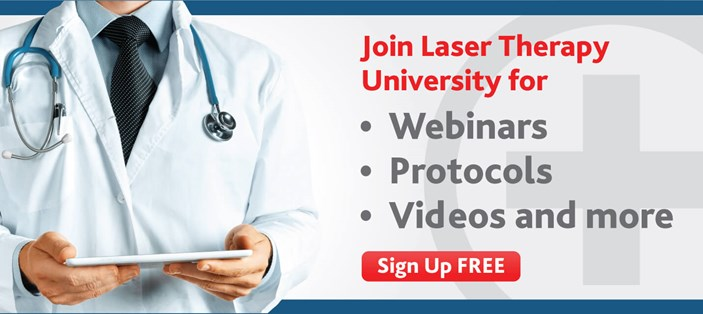 Sign up free for Laser Therapy University